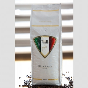 PERLA BIANCA - medium/dark roasted, fine espresso blend